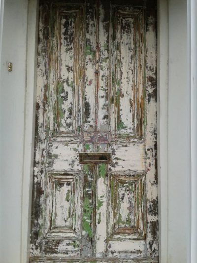 Step 1 How to restore a front door on a period house by Impressions Painting and Decorating