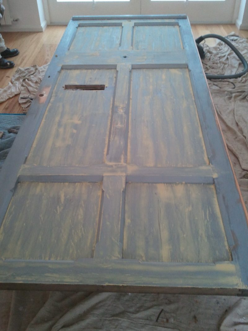 Step 2 How to re-paint a front door on a period house by Impressions Painting and Decorating