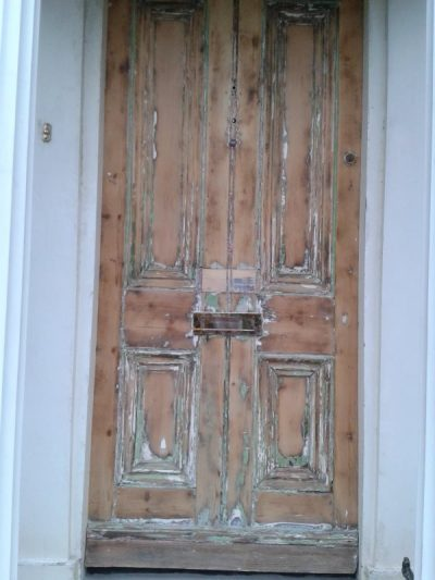 Step 2 How to restore a front door on a period house by Impressions Painting and Decorating