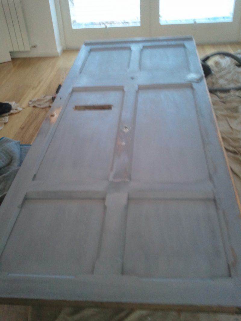 Step 3 How to re-paint a front door on a period house by Impressions Painting and Decorating
