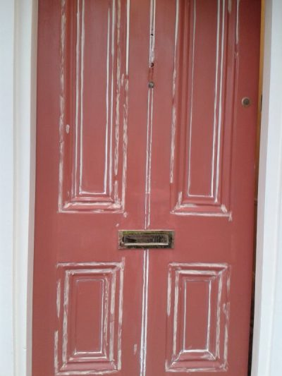 Step 4 How to restore a front door on a period house by Impressions Painting and Decorating