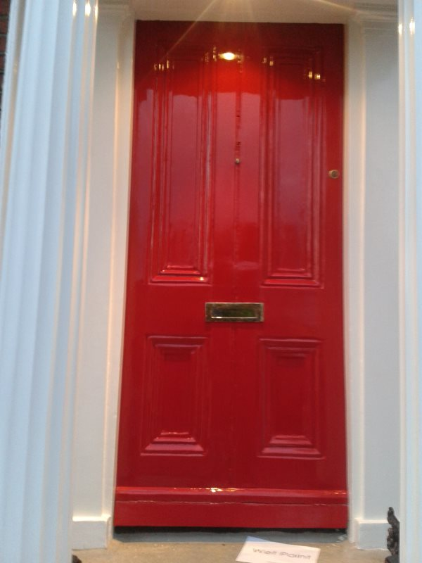 Step 5 How to restore a front door on a period house by Impressions Painting and Decorating - Donnybrook