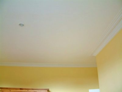 Eliminated cracks in period house ceilings blog by Impressions Painters Decorators