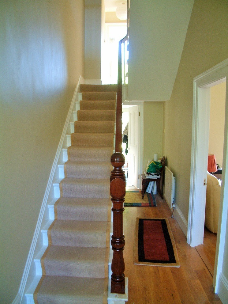 Restoring the handrail and staircase in a period home blog by Impressions Painting and Decorating