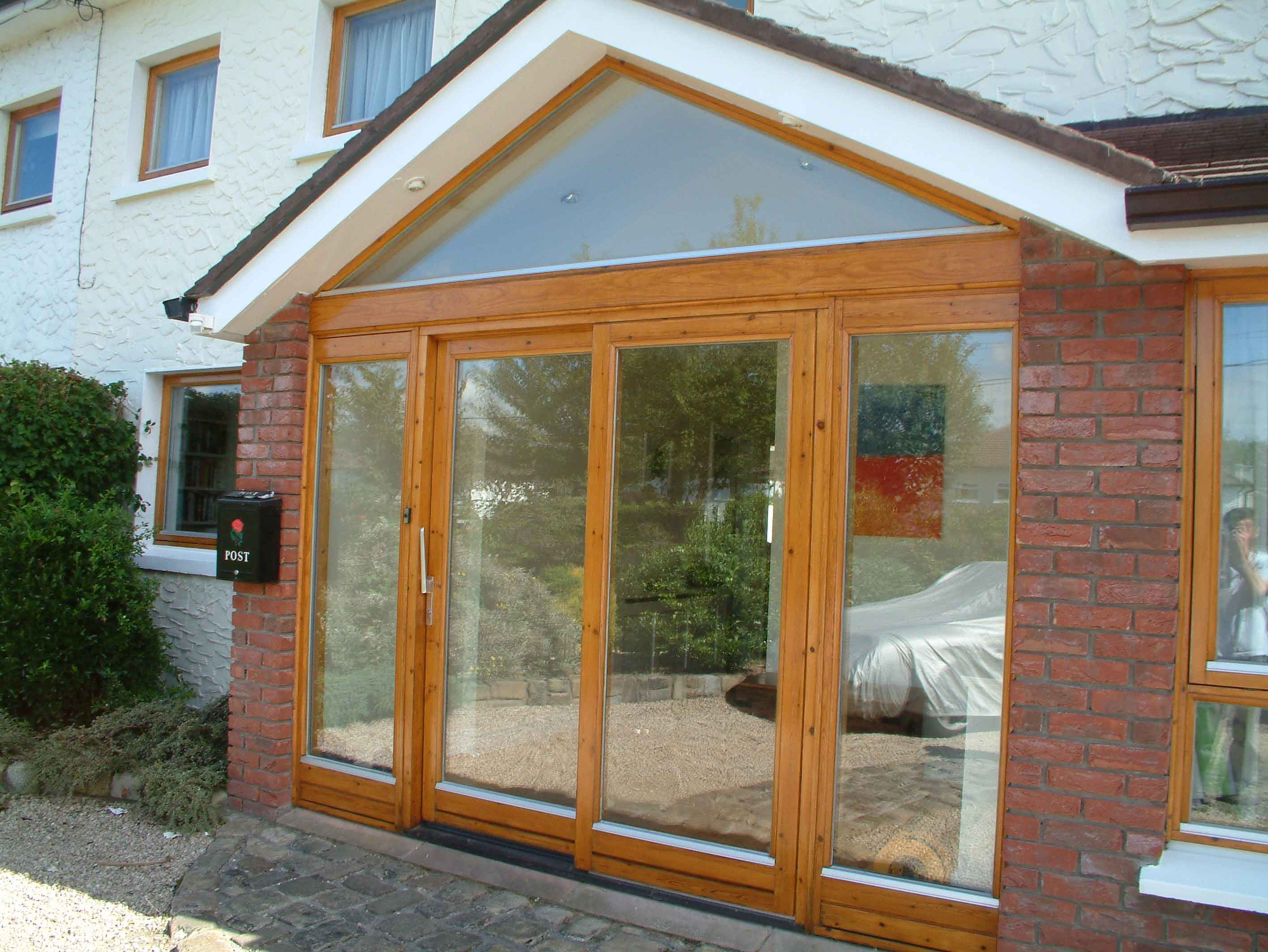 How to varnish your exterior doors and windows by Impressions Painting and Decorating in Glenageary