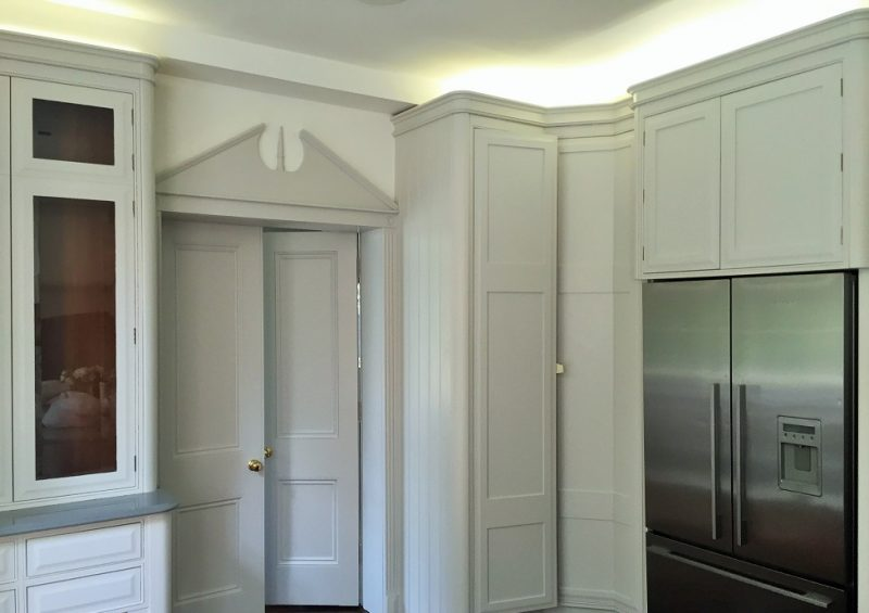 Hand painted kitchen in Stillorgan by Impressions Painters and Decorators in Stillorgan