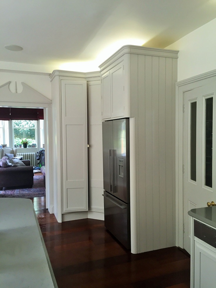 Kitchen hand painted by Impressions Painters and Decorators in Stillorgan