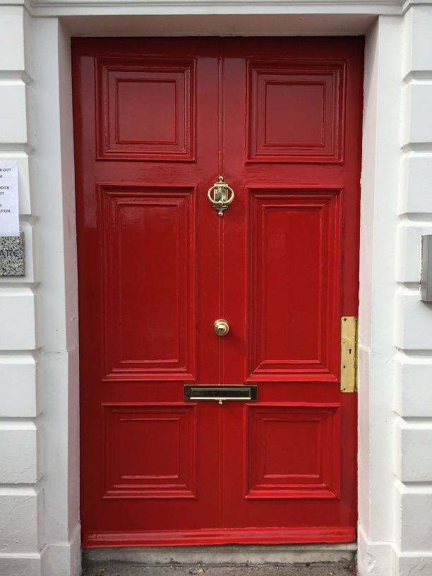 Step 7 - How to restore a front door using a heatgun blog by Impressions Painting and Decorating