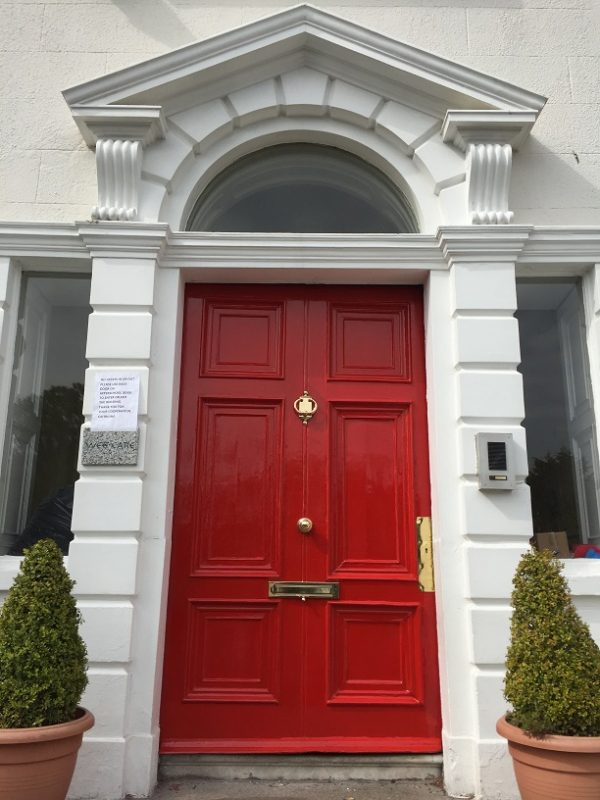 Step 8 - How to restore a front door using a heatgun blog by Impressions Painting and Decorating