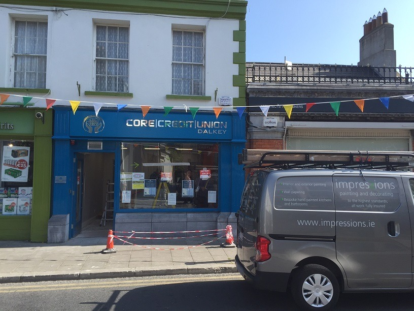 How to paint RAL colours and match RAL colours - after painting a shop in Dalkey by Impressions Painting and Decorating