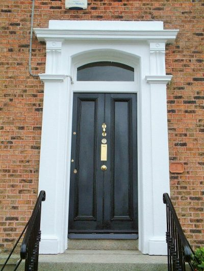 Period door painting and restoration in Dalkey by Impressions Painters and Decorators