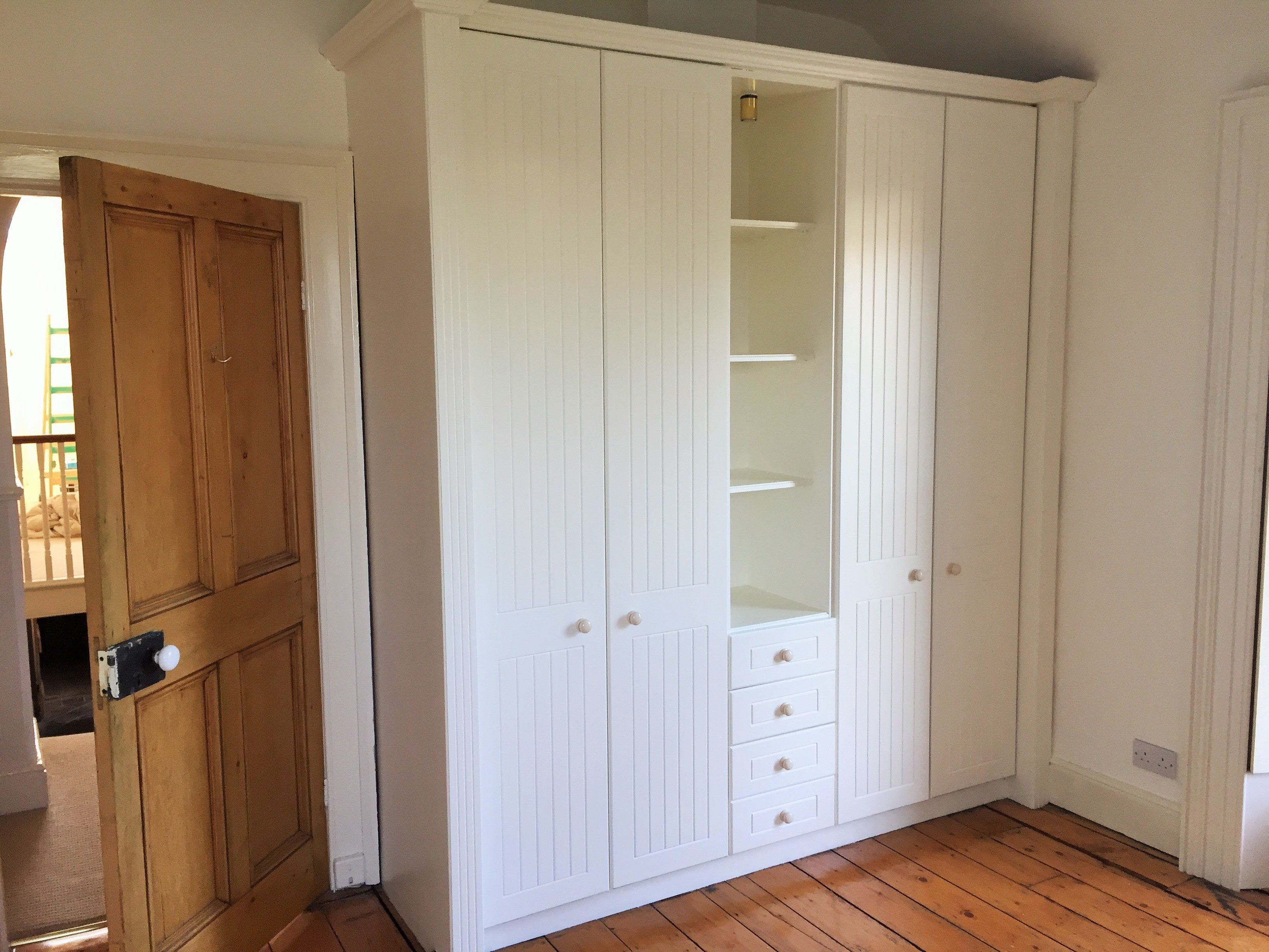 How to paint a laminated surfaces - after photo of a laminated wardrobe we painted in Sandycove by Impressions Painting and Decorating
