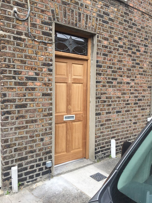 Step 1 - How to paint a hardwood front door and get the perfect finish by Impressions Painting and Decorating