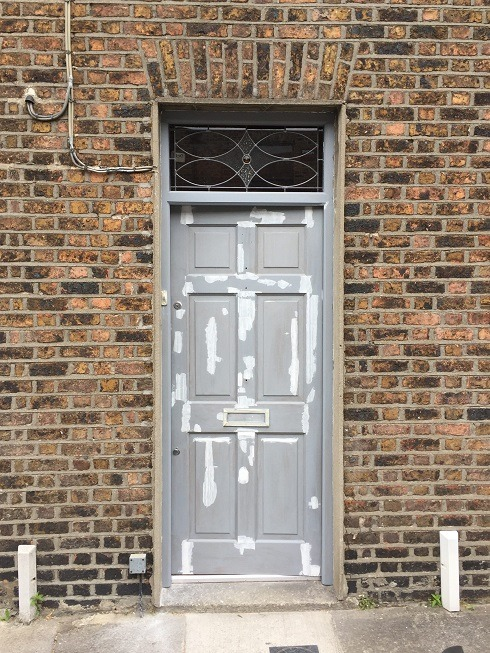 Step 2 - How to paint a hardwood front door and get the perfect finish by Impressions Painting and Decorating - Copy