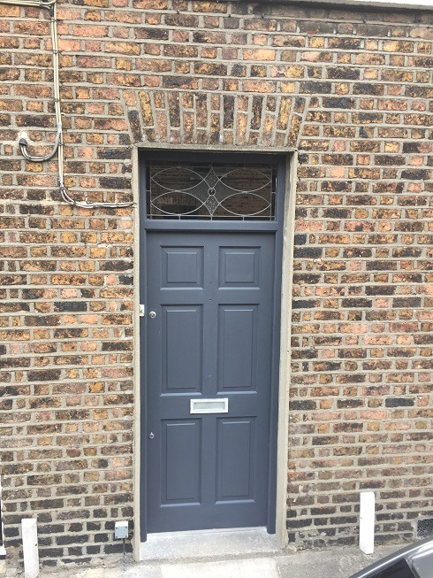 Step 4 - How to paint a hardwood front door and get the perfect finish by Impressions Painting and Decorating - Copy