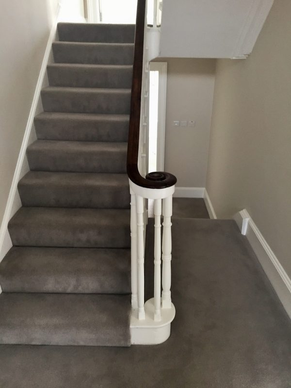After photo of redecorated and painted in Ranelagh of halls stairs and landing by Impressions Painters and Decorators