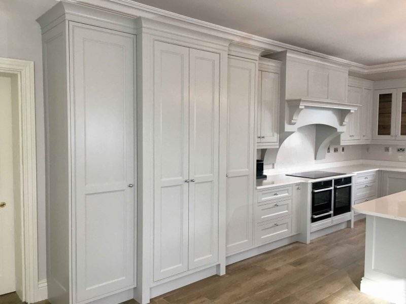Should you use oil or water-based paint for a hand-painted kitchen- Blog post by Impressions Painting and Decorating
