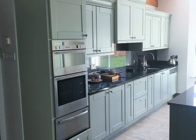After photo of a hand-painted kitchen in Co. Meath by Impressions Painting and Decorating