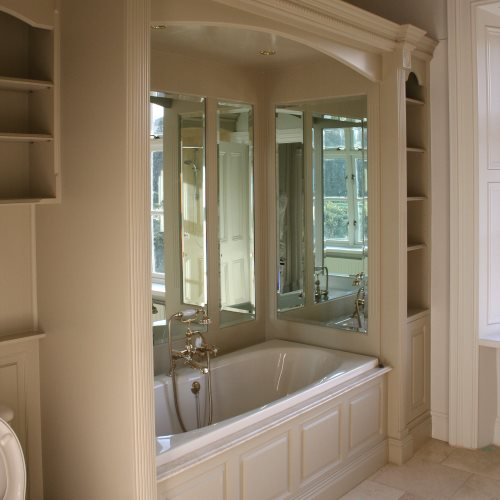 Bespoke bathroom furniture and bathroom unit painters in South Dublin Impressions Painting and Decorating