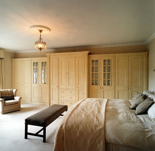 Bespoke hand painted bedroom furniture and wardrobe painters in Dublin Impressions Painting and Decorating
