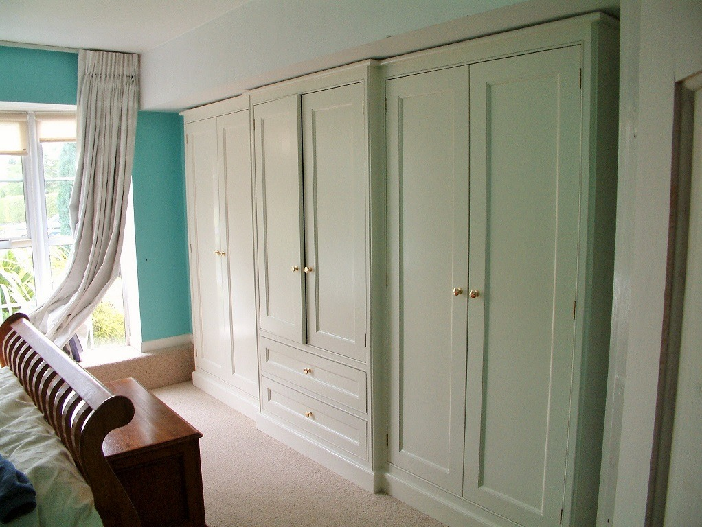 Bespoke hand painted bedroom furniture by Impressions Painting and Decorating in Ranelagh Dublin