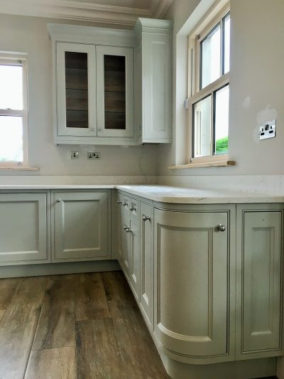 Bespoke hand painted kitchen furniture painters and decorators in Dublin Impressions Painting and Decorating