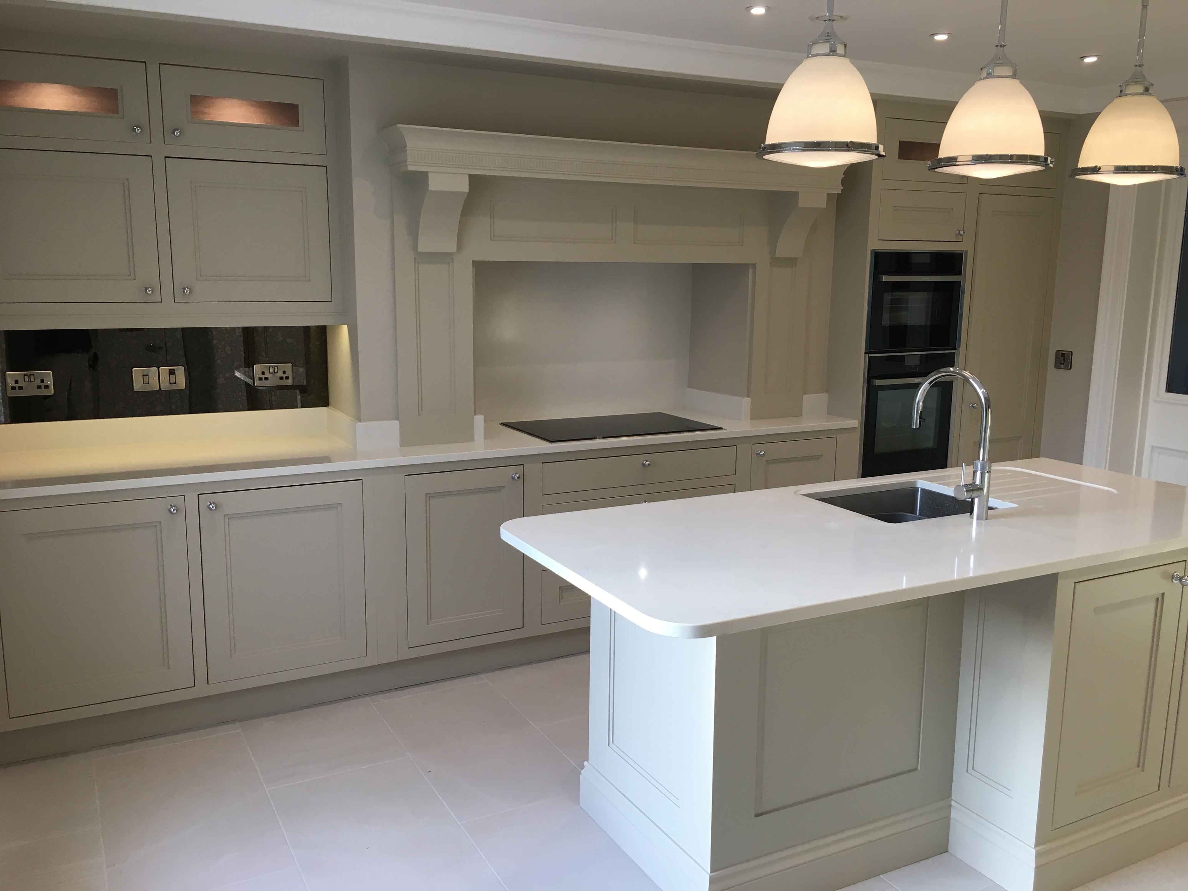 Bespoke hand painted kitchen painters Impressions Painting and Decorating in Dublin