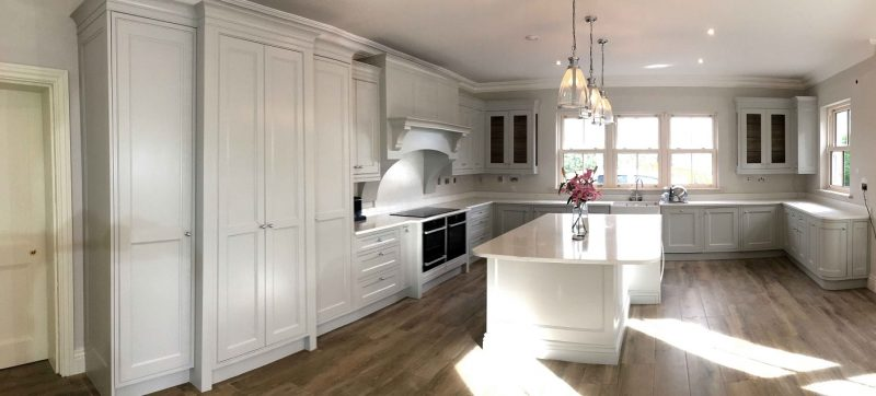 Bespoke hand painted kitchen painters and kitchen painting furniture Impressions Painting and Decorating in South Dublin
