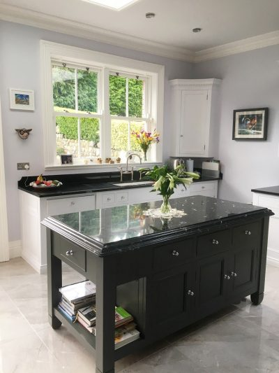 Bespoke hand-painted kitchen painters in Dublin Impressions Painting and Decorating