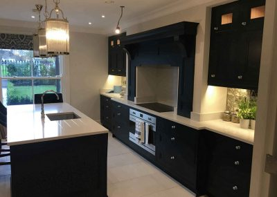 Bespoke hand-painted kitchens by Impressions Painters and Decorators Dublin
