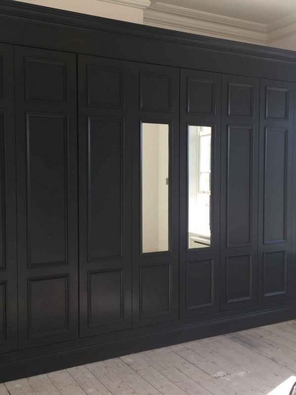 Bespoke hand painted wardrobes and furnitures in Dun Laoghaire Dublin Impressions Painting and Decorating