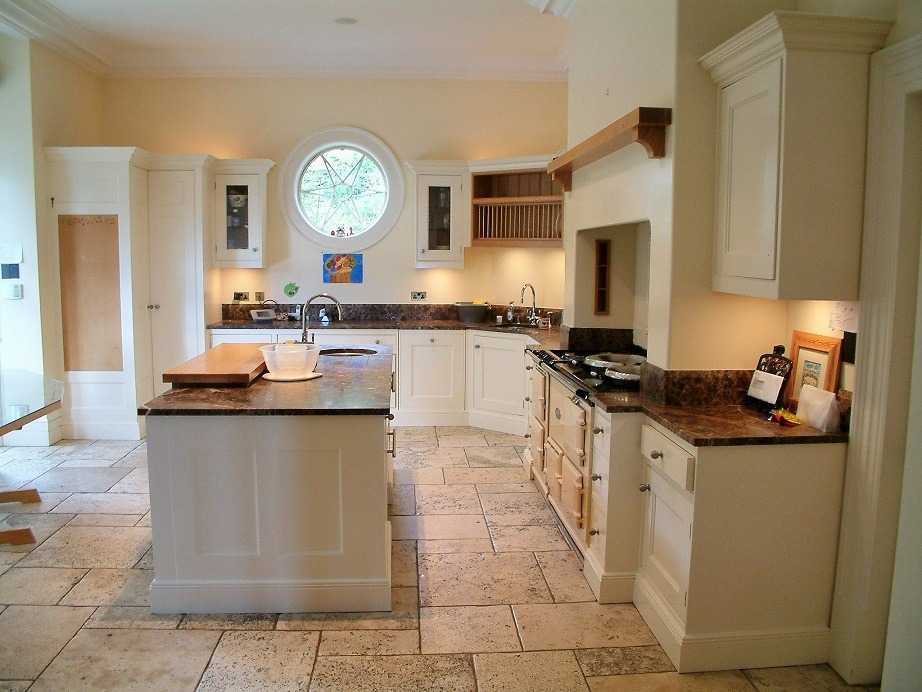 Bespoke kitchens painters and kitchen furniture painters Impressions Painters and Decorators in Killiney