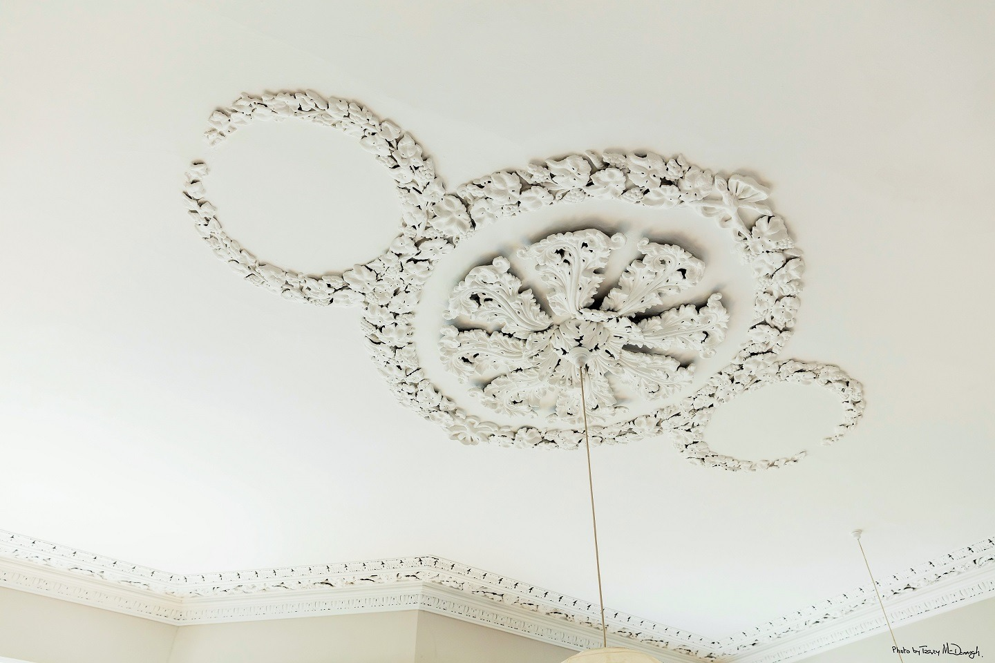 Ceiling restoration and cornice restoration in period houses by Impressions Painting and Decorating in Dublin