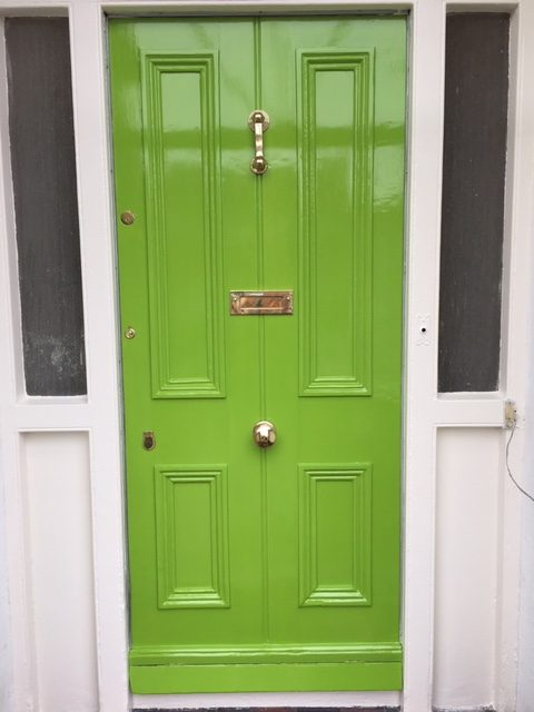 Door painting and period door painting and restoration by Impressions Door painters and decorators in Dublin