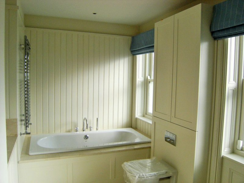 Hand painted bespoke bathroom furniture painters Impressions Painters and Decorators in South Dublin (2)