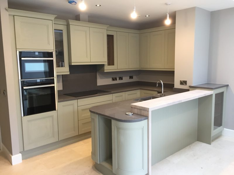 Hand painting period house kitchen painters in Dublin Impressions Painters and Decorators