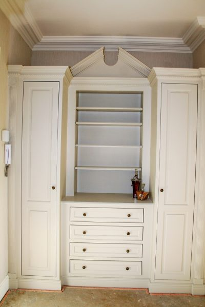 Impressions Painting and Decorating Hand painting bedroom furniture and dressing room units
