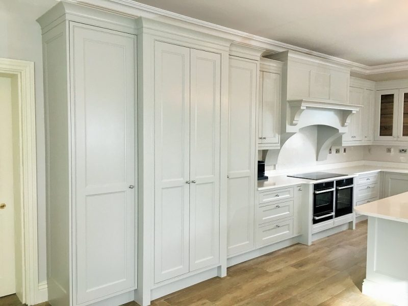Kitchen furniture painters and kitchen unit painters and decorators in Dublin Impressions Painters and Decorators