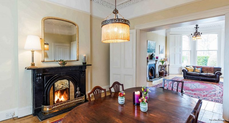 Living and dining room painters and decorators in Dublin Impressions Painting and Decorating
