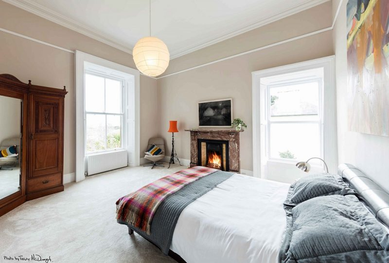 Period House Bedroom Painting and Decorating and Restoration by Impressions Painting and Decorating in Dublin