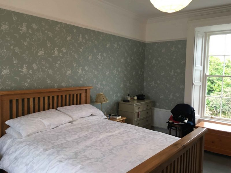 Period house bedroom wallpapering and decorating experts in Dublin Impressions Trusted Painters and Decorators