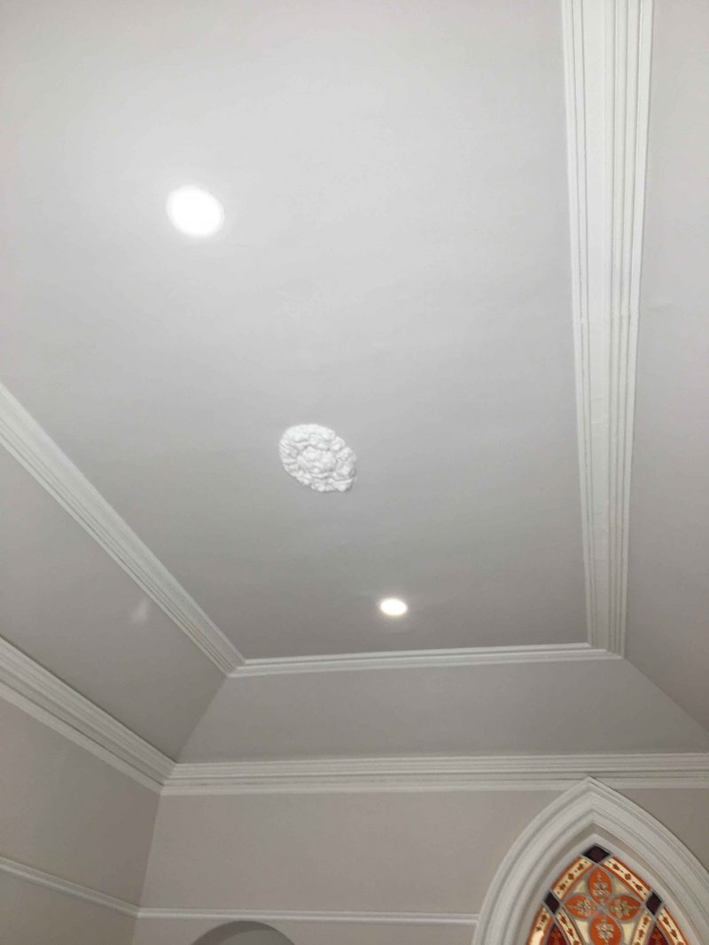 Period house ceiling and cornice restoration and painting experts in Dublin
