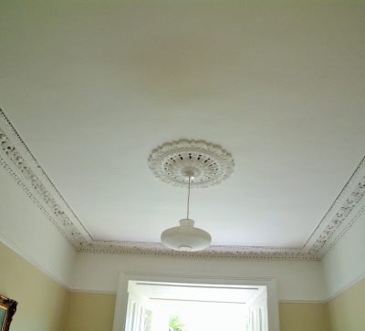 Period house cornice painting and restoration experts in Dublin Painting and Decorating