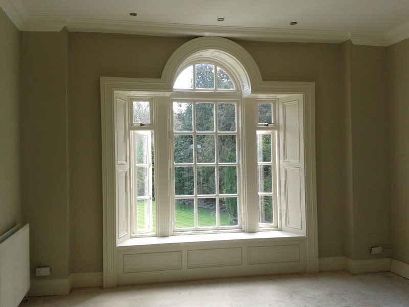 Period window restoration and painting experts in South Dublin by Impressions Painting and Decorating