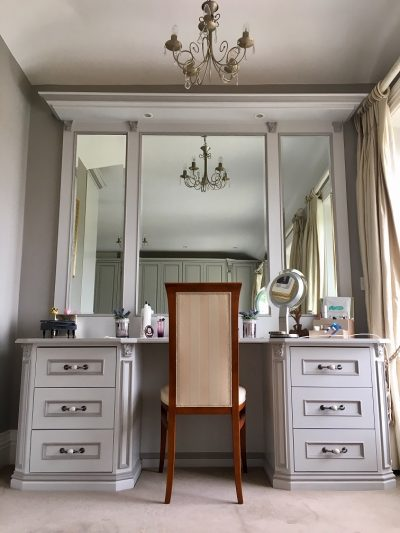 Professional hand painted bedroom furniture painters in Dublin Impressions Furniture Painters and Decorators