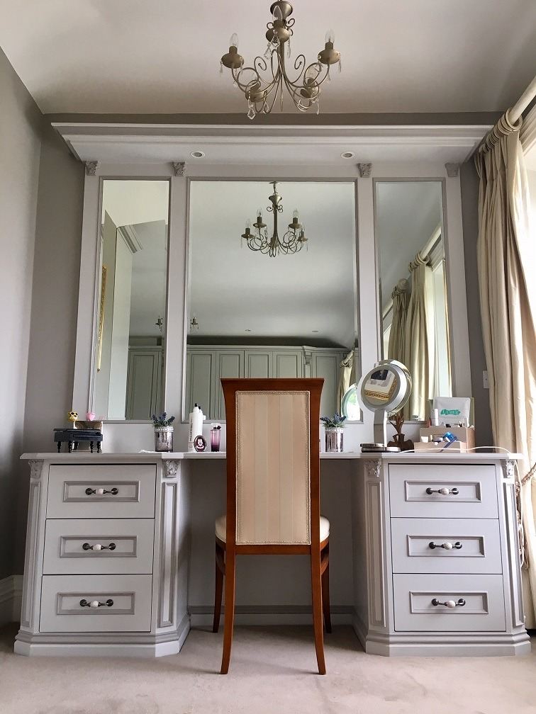 Professional hand painted bedroom furniture painters in Dublin Impressions Furniture Painters and Decorators