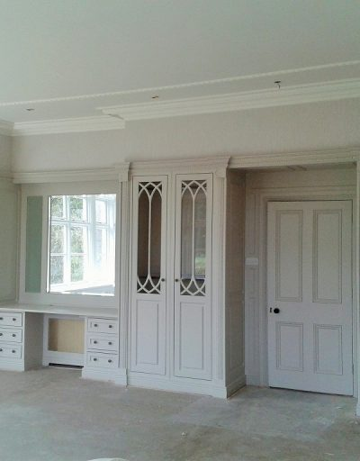 Wardrobe hand painted wardrobe painters in Dublin by Impressions Painters and Decorators in Enniskerry