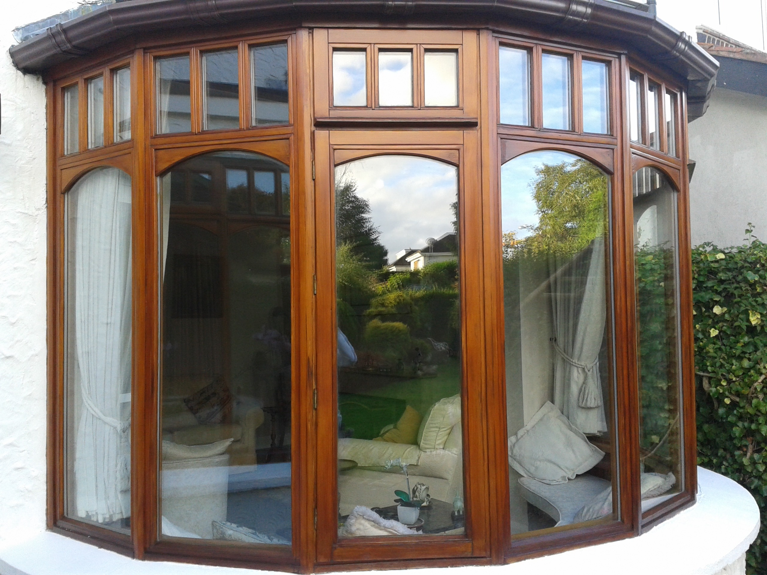 Window restoration and window painting by Impressions painting and decorating in Dublin