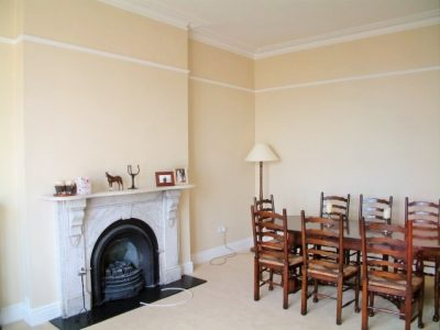 Dining room painted in Dalkey by Impressions Painters and Decorators