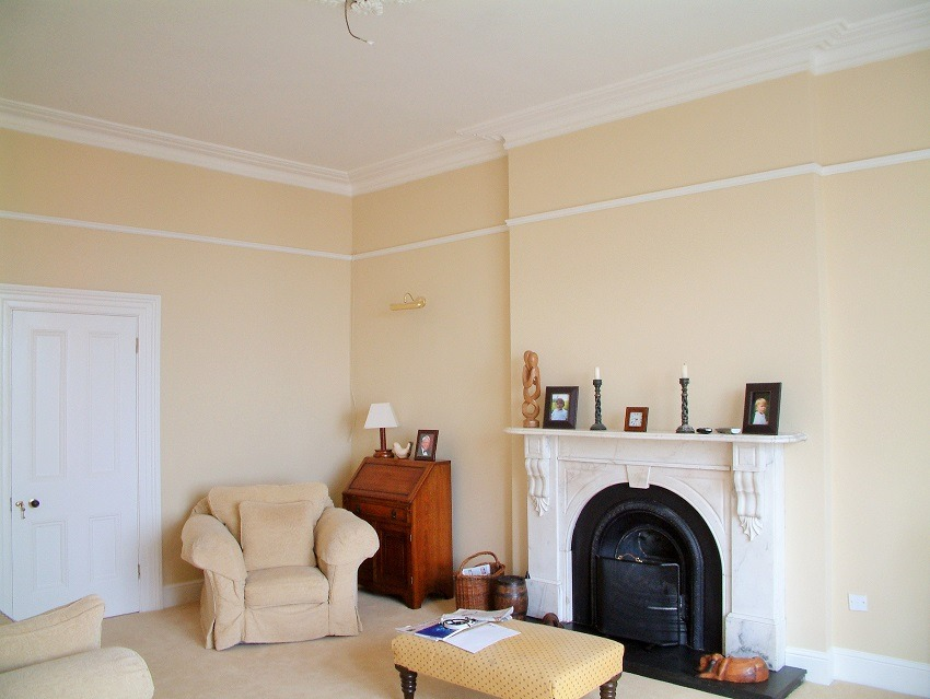 Living room painters and Decorators in Dalkey Impressions Painters and Decorators